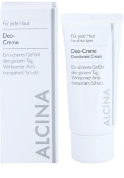 Alcina For All Skin Types дезодорант-крем