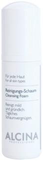 Alcina For All Skin Types очищаюча пінка з пантенолом