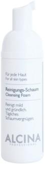 Alcina For All Skin Types čistiaca pena  s panthenolom