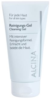 Alcina For All Skin Types Cleansing Gel with Aloe Vera and Zinc