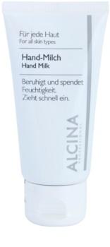 Alcina For All Skin Types Leite para mãos contra a pele seca