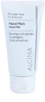 Alcina For All Skin Types testápoló tej kézre bőrszárazság ellen