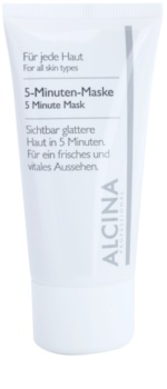Alcina For All Skin Types 5-minute Refreshing Face Mask