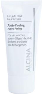 Alcina For All Skin Types aktivní peeling pro jemnou a vyhlazenou pleť