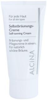 Alcina For All Skin Types Brun-utan-sol ansiktslotion