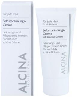 Alcina For All Skin Types samoopaľovací krém na tvár