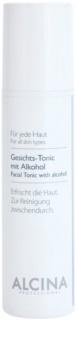 Alcina For All Skin Types lotion tonique visage à l'alcool