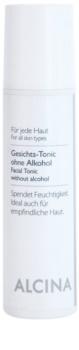 Alcina For All Skin Types lozione tonica viso senza alcool