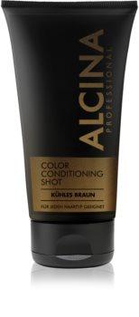 Alcina Color Conditioning Shot Brown bálsamo con color para resaltar el color del cabello