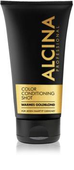 Alcina Color Conditioning Shot Gold balsam tonujący dla podkreślenia koloru włosów