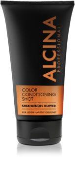 Alcina Color Conditioning Shot Copper tónovací balzám pro zvýraznění barvy vlasů
