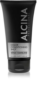 Alcina Color Conditioning Shot Silver bálsamo con color para resaltar el color del cabello