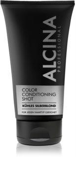 Alcina Color Conditioning Shot Silver тональний бальзам для підсилення кольору волосся