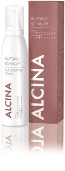 Alcina Dry and Damaged Hair mousse régénérante effet instantané