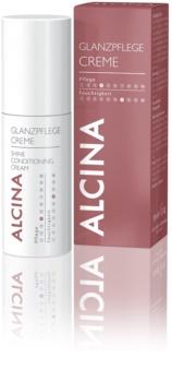 Alcina Dry and Damaged Hair pěsticí krém pro lesk vlasů