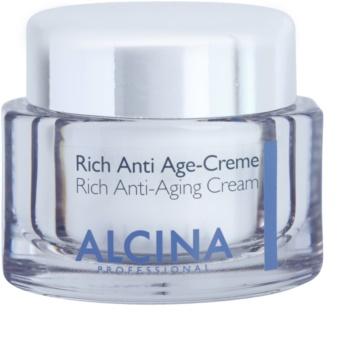 Alcina For Dry Skin поживний крем проти старіння шкіри