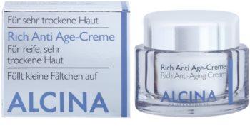 Alcina For Dry Skin nährende Creme gegen Hautalterung