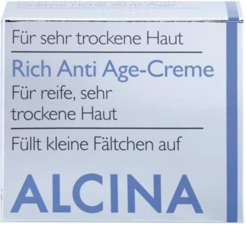 Alcina For Dry Skin výživný krém proti starnutiu pleti
