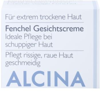 Alcina For Dry Skin Fennel крем для відновлення поверхневого шару шкіри