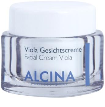 Alcina For Dry Skin Viola arckrém az arcbőr megnyugtatására