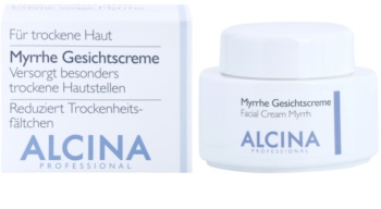 Alcina For Dry Skin Myrrh Face Cream with Anti-Ageing Effect