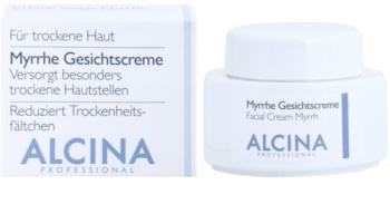 Alcina For Dry Skin Myrrh krem do twarzy o działaniu przeciwzmarszczkowym