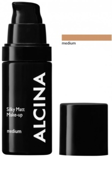 Alcina Decorative Silky Matt make-up s púdrovým efektom