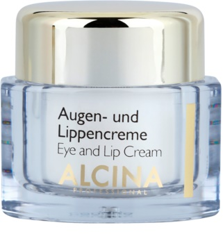 Alcina Effective Care crema pentru ochi si buze cu efect de netezire