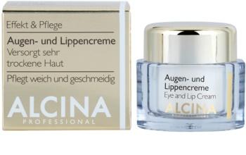 Alcina Effective Care crema per occhi e labbra effetto lisciante