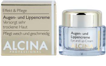 Alcina Effective Care Oog en Lip Crème met Glad makende Effect