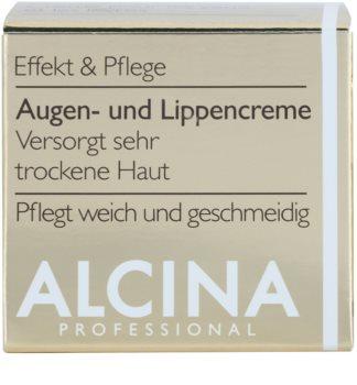 Alcina Effective Care крем для шкіри навколо очей та губ з розгладжуючим ефектом