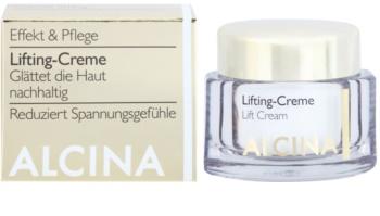 Alcina Effective Care crema con efecto lifting para tensar la piel