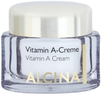 Alcina Effective Care crème visage à la vitamine A anti-rides effet durable