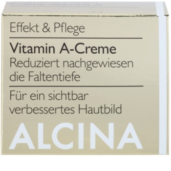 Alcina Effective Care crème visage à la vitamine A anti-rides effet durable