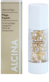 Alcina Effective Care Nourishing Capsules for Velvety Smooth Skin