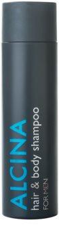 Alcina For Men champô para cabelo e corpo