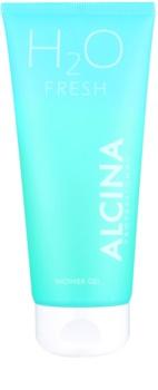 Alcina H2O Fresh sprchový gél pre jemnú a hladkú pokožku