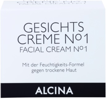 Alcina N°1 Face Cream With Moisturizing Effect