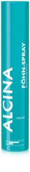Alcina Styling Natural spray térmico para recuperar a elasticidade e volume do cabelo