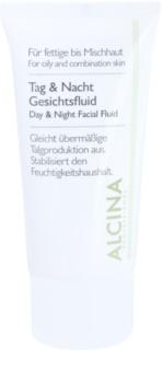 Alcina For Oily Skin loción de día y noche para regular la producción de sebo