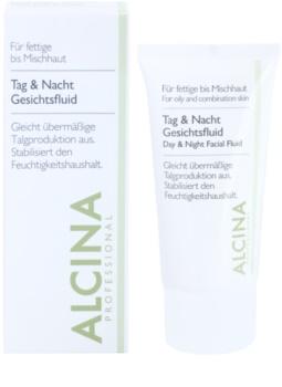 Alcina For Oily Skin Tages- und Nachtfluid für die Regulierung von Seborrhö