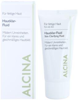 Alcina For Oily Skin bylinný fluid pro rozjasnění pleti