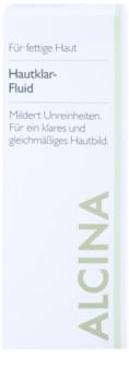 Alcina For Oily Skin Gyógynövényes folyadék az élénk bőrért