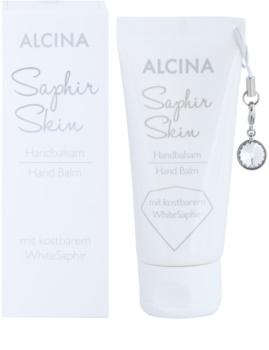 Alcina Saphir Skin balsam do rąk o dzłałaniu nawilżającym