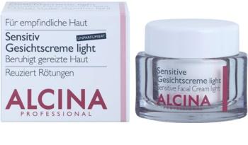 Alcina For Sensitive Skin crema delicata viso per lenire e rinforzare le pelli sensibili