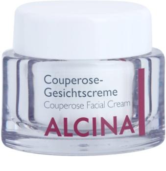 Alcina For Sensitive Skin зміцнюючий крем для розширених та потрісканих вен
