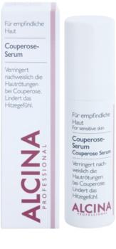 Alcina For Sensitive Skin сироватка для зменшення дрібних судин та усунення почервоніння шкіри