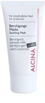 Alcina For Sensitive Skin nyugtató maszk azonnali hatással