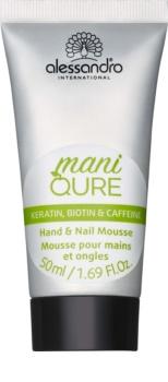 Alessandro Maniqure espuma para manos y uñas cuidado especial