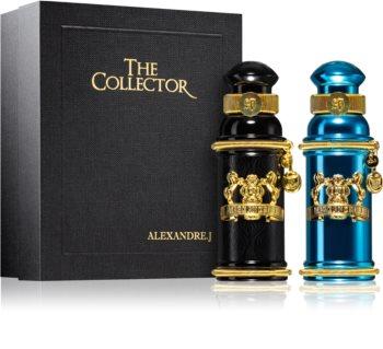 alexandre j the collector - black muscs woda perfumowana 30 ml  zestaw
